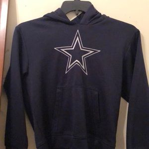 NFL Shirts & Tops - NFL Dallas Cowboys sweatshirt with hood